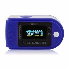 Health Care Finger Oximeter Blood Pressure Fingertip Pulse Oximeter Oxymeter Monitor OLED Display oximetro For Home Hospital(China)