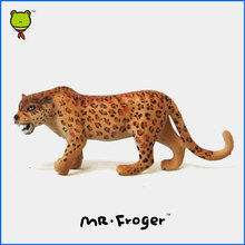 Mr.Froger Cheetah Model Toy Wild animals toys set Zoo modeling plastic Solid Classic Toys Children Animal Models cute collection