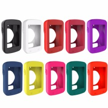 10 Colors Soft Silicone Rubber Protective Frame Cover Case Protecot Shell Skin Covers for Garmin Edge 820 Cycling Computer(China)
