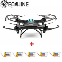 Best Deal Eachine H8C Mini 2MP Camera RC Quadcopter with 5pcs 3.7V 300mAh Battery Charger RC Helicopter Remote Control Toys