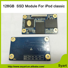 Free shipping 128GB Zif CE Interface SSD Module for iPod classic 6th 7th Gen Classic Video 5th 505th Logic Board
