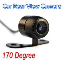 170 Degree Car Rear View Camera Waterproof Parking Sensor System HD CCD Auto Built-in Distance Scale Lines
