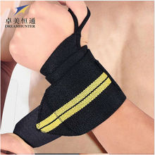 Sports Safety Elastic Wrist Support Brace Wrist Band Strap Wraps Badminton Weightlifting Crossfit Bodybuliding Wristbands