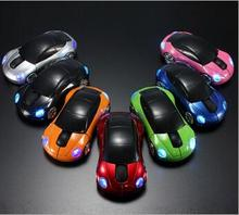 2.4Ghz Optical Wireless Gaming Mouse Car Shape Mice PC Laptop Computer Accessories Wireless Mouse Fashion Car Shaped Mouse