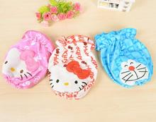 Catoon Pink Hot Pink Hello Kitty Doraemon Home kitchen Short Arm Sleeve Cleaning Kids Oversleeves(China)