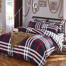 summer style bedding soft comfortable set twin Full Queen size duvet cover set reactive printed bed linen flat sheet bedclothes