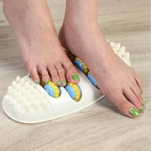 ABS Foot Massages Machine Oval 4 Row Roller Foot Massager Acupoint massage device Comfortable relaxation(China)
