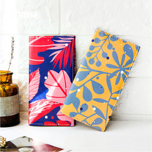The Colorful Forests Theme Creative Traveller Journal Fashion Notebook 17.5*9.5cm DIY Agenda Free Shipping