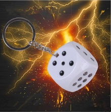 1 Pc Creative Electric Shock Toy Novelty Items Prank Toy Dice Gift Trick Goods April Fools' Day Gifts Shock Your Friend