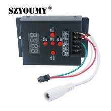 Buy SZYOUMY 20pcs T-500 WS2811 WS2801 LPD6803 Mini Intelligent RGB LED Controller 5050 Magic Dream Color RGB LED Strip Module for $206.08 in AliExpress store