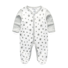 2017 new Children pajamas baby rompers newborn baby clothes long sleeve underwear cotton costume boys girls autumn rompers(China)