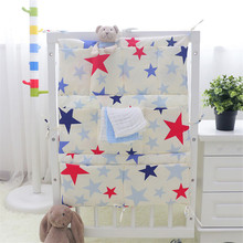 baby bedding set cotton(1pc bag only )boys girls baby crib hanging bags diaper toys storage bag receiving napkins organize