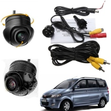 HOT Mini CCD Coms HD Night Vision 360 Degree Car Rear View Camera Front Camera Front View Side Reversing Backup Camera