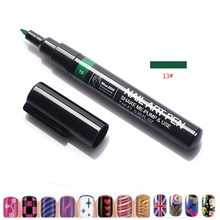 Nail Art Design 3D DIY Nail Art Pen Painting Design Tool Drawing For UV Gel Manicure(China)