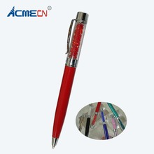 ACMECN Hot Sale Novelty Design Mini Pens with China Crystal Cute Pen Gifts for Retail Product Lady Korea Style Stationery Gifts(China)
