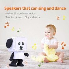 Portable Dancing Wireless Bluetooth Speaker V4.1 Cute Smart Robot Dog Mini Outdoor Indoor Stereo Speaker with 6-Hour Playtime(China)