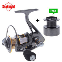 SeaKnight Carbon Fiber Super Light DR2000/3000/4000 Series 11BB 5.2:1/4.7:1 Spinning Fishing Reel + Plastic Spare Spool