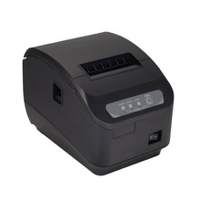 High quality 200mm/s thermal printer 80mm POS printer Kitchen printer Auto Cutter printer with USB+Serial / Lan Port