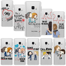 Чехол Greys Anatomy You're My Person для samsung Galaxy S9 S8 S10 S10e S6 S7 Edge Plus S4 S5 S3 Mini TPU чехол для Galaxy S8 чехол(Китай)