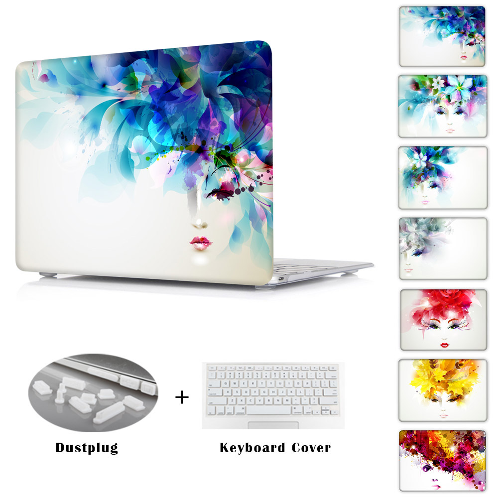 Women Pattern Transparent Crystal For Apple Mac Macbook Pro 13 Case Coverfor Pro 13 15 Inch With Retina Display Air 13 Air 11 <br><br>Aliexpress