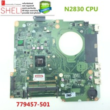 779457-501 for HP 15 15-F series Laptop Motherboard DAU88MMB6A0 N2830 CPU working perfeclty SHELI stock No.003(China)