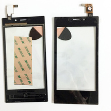 "4.0"" Touch Screen Digitizer For Highscreen Zera F rev.S Touch Panel Front LCD Glass Lens Replacement Touchscreen+3M Sticker"