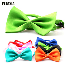 New Tie Cravat For Pet Dog Puppy Cat Bow Tie Necktie Cute Bowknot Collars Pet Colorful hair style Pet ties Clothing