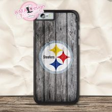 Pittsburgh Steelers American Football Case For iPhone X 8 7 6 6s Plus 5 5s SE 5c 4 4s For iPod Touch 5 4(China)