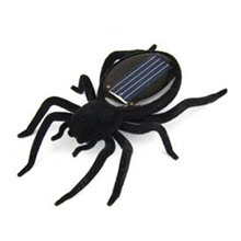Wholesale!Educational Solar powered Spider Robot Toy Gadget Gift(China)
