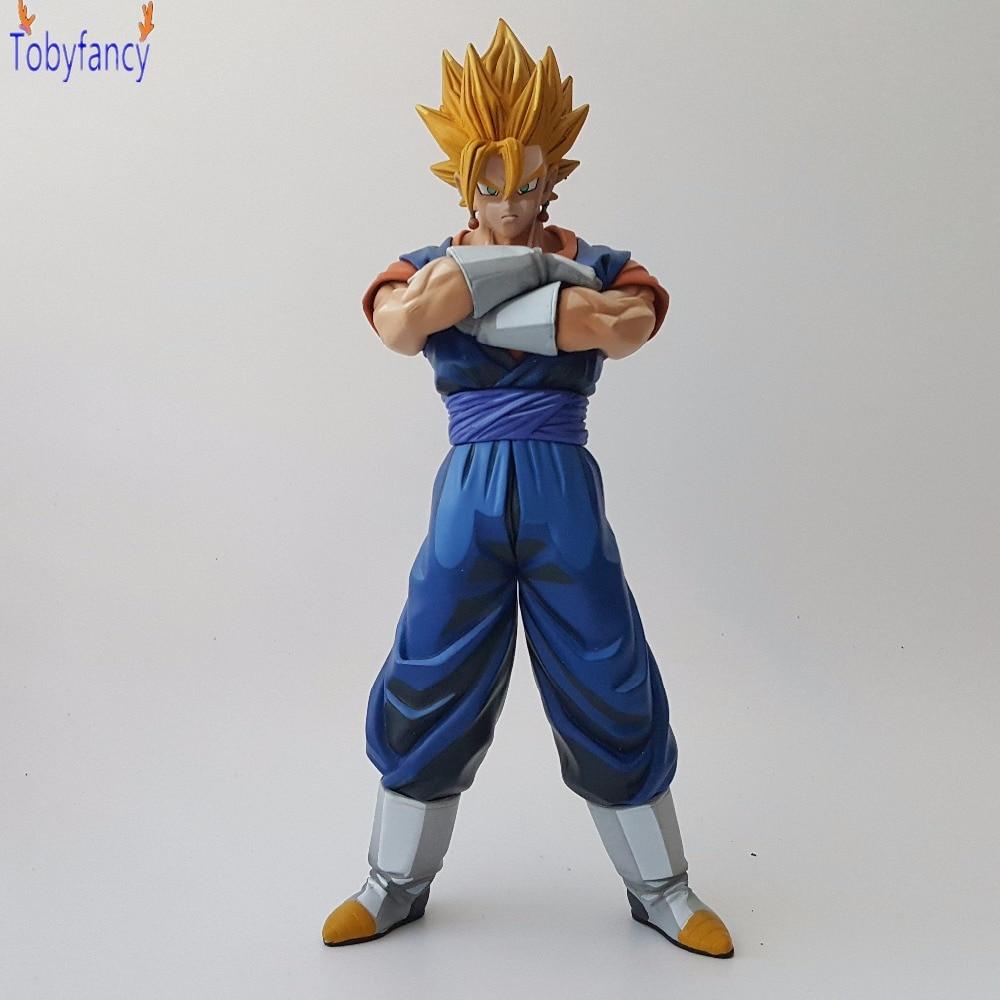 Dragon Ball Z Vegetto Figures 26cm Collection Model Toys DBZ Super Saiyan son goku Color Version Anime Dragon Ball Z Figurine<br>