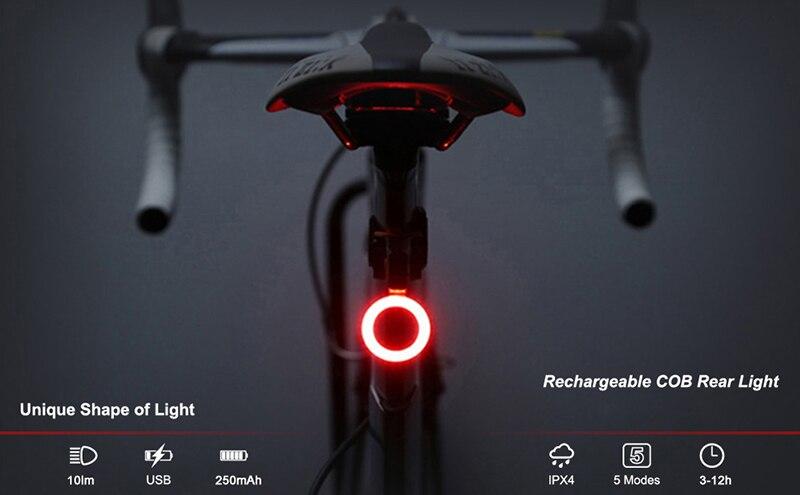 plastic bike bicycle tail safety warn lamp cycling bike rear reflector light MW