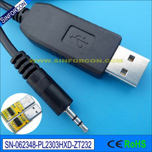 win10 mac android pl2303hxd usb rs232 adapter cable with 2.5mm mini jack connector