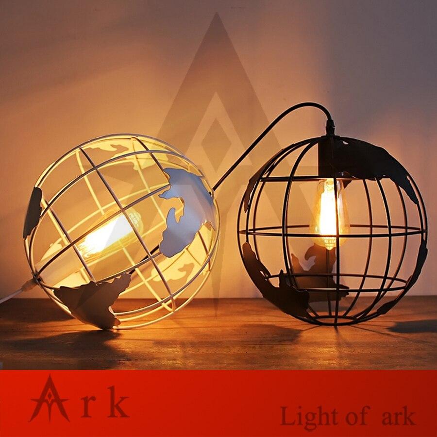Modern Global Earth Shape Lustre Pendant Lights Living Room Pendant Lamps Restaurant suspension luminaire Home Lighting Fixtures<br>