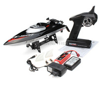 New FT012 2.4G Brushless RC Racing Boat RTR Speedboat Upgraded FT009 Toys(China)