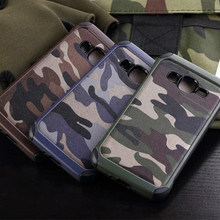 2 in 1 Army Camo Camouflage Pattern Cover Hard PC + Soft TPU Armor Protective Case For Samsung Galaxy Core Prime G360 G3608
