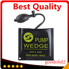 Best Black KLOM Pump Wedge Locksmith Tools Auto Air Wedge Lock Pick Open Car Door Lock Medium Size 16*15 CM Windows Door Tool