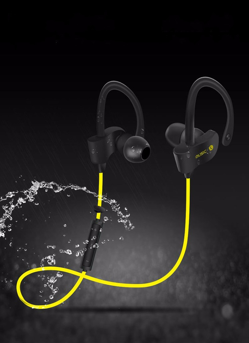S4 Bluetooth Headset Wireless Earphone Headphone Sport Running Earphones Earbuds Stereo Music with Microphone for iPhone 7 xiaom (8)