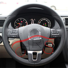 Steering Wheel Control Button Switch 5C0959537A/5C0959538B car styling For VW Golf Jetta MKVI MK6 Eos