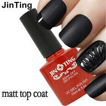 New 10ml Cleaning Matt Top Coat Matt Lacquer Gel Nail Polish Matte Nail Primer Layer Varnish Matte Top Gel Polish Nail Varnish