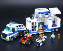City Police Building Blocks toys for children Assembling Series Police Car Command Vehicle Bricks Toys 60139