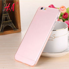 0.28mm Ultra thin matte Case cover skin for iPhone 6 plus/5.5 S Translucent slim Soft plastic Free Shipping Cellphone Phone case(China)