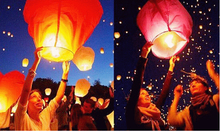 Wholesale 3000pcs/lot  SKY Balloon Kongming wishing Lanterns,Flying Light Halloween Lights,Chinese sky Lantern Free shipping