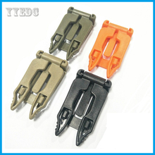 5 Pcs/lot Molle Strap EDC Outdoor tool Camping Backpack Bag Webbing Connecting Buckle Clip webbing travel kits