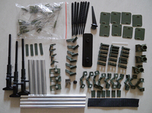 Accessory package with pushrod for Lan Xiang B-25 B25 mitchell bomber super RC warbird airplane sky flight hobby
