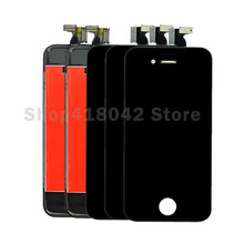 10PCS/LOT For iPhone 4S LCD Display + Touch Screen Digitizer Assembly Free Shipping(China)