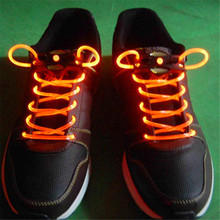 Hot Sale LED Night Lights Decoration Lights LED Shoelaces Shoe Laces Flash Light Up Glow Stick Strap Shoelaces Disco Party
