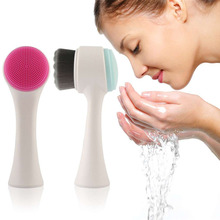 3D Double Side Multifunctional Face Brush Skin Cleaner Face Washing Machine Exfoliator Facial Cleaning Brush quality