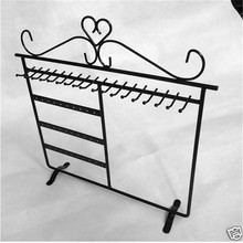 Fashion 30*30cm 30 Holes Black Jewelry Earring Display Jewelry Stand Holder holder storage rack  jewelry display rack Free Ship