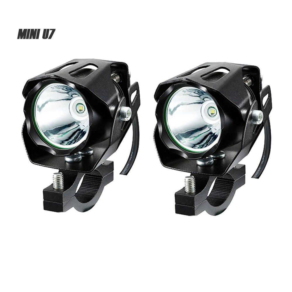 Adjustable Motorcycle 18W LED Driving Spot Spotlight Lamp Light For Honda