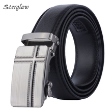 2017 Time-limited Fashion Male Brand Automatic Leather Belts For Men Decorative Special Western Buckle Wide And Straps U129